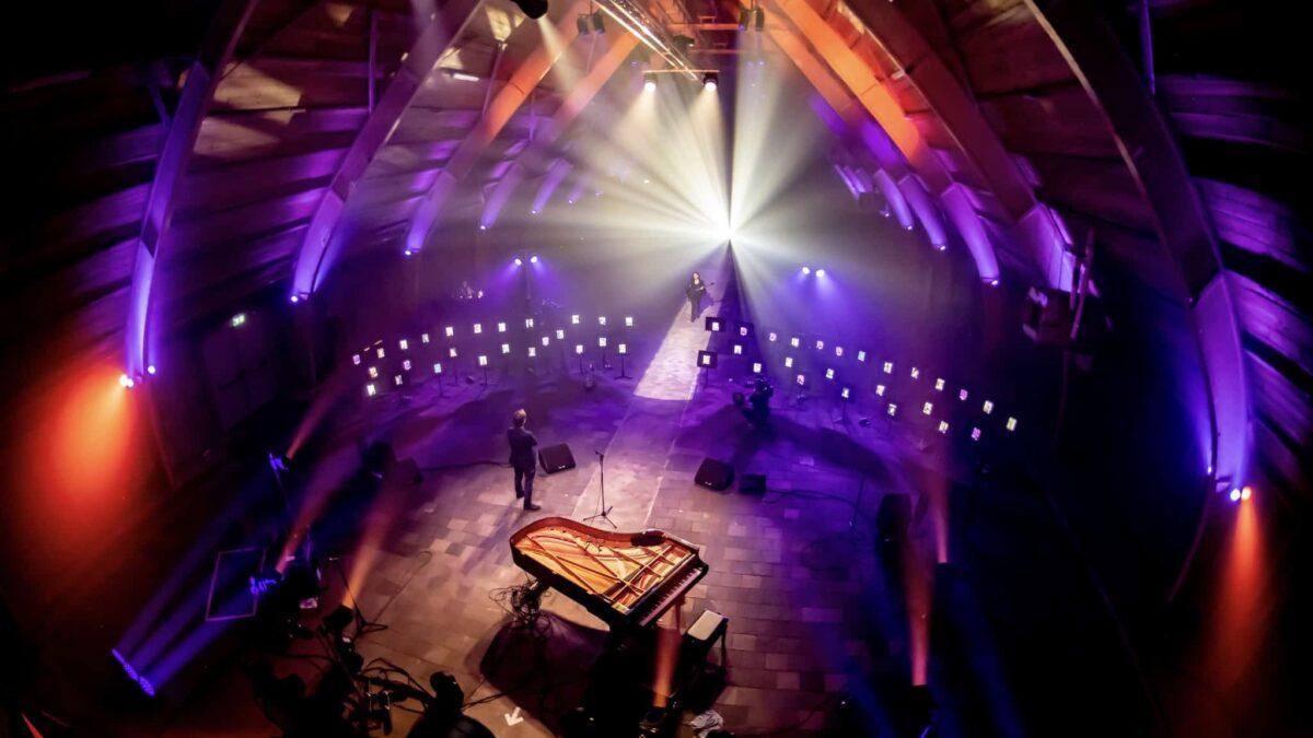 Ruimte om te raken - DeFabrique - iPads - concert - online event - virtual event