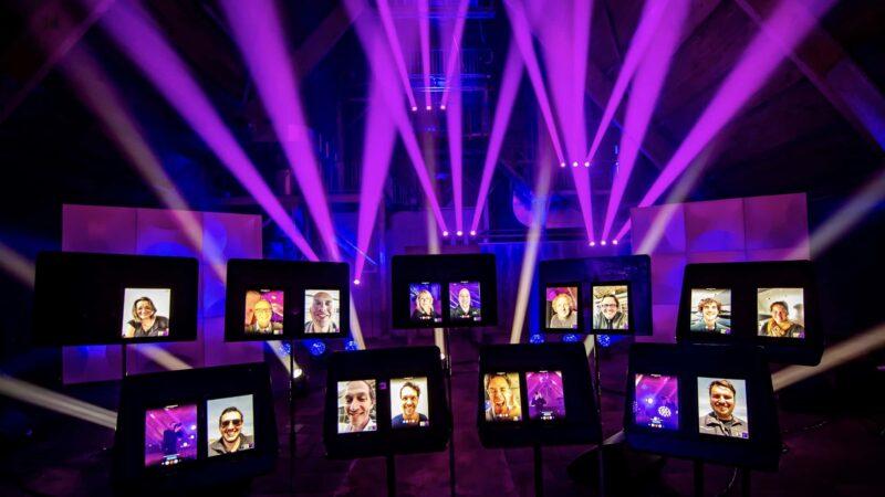 Ruimte om te raken - DeFabrique - concert - iPads - online event - virtual events