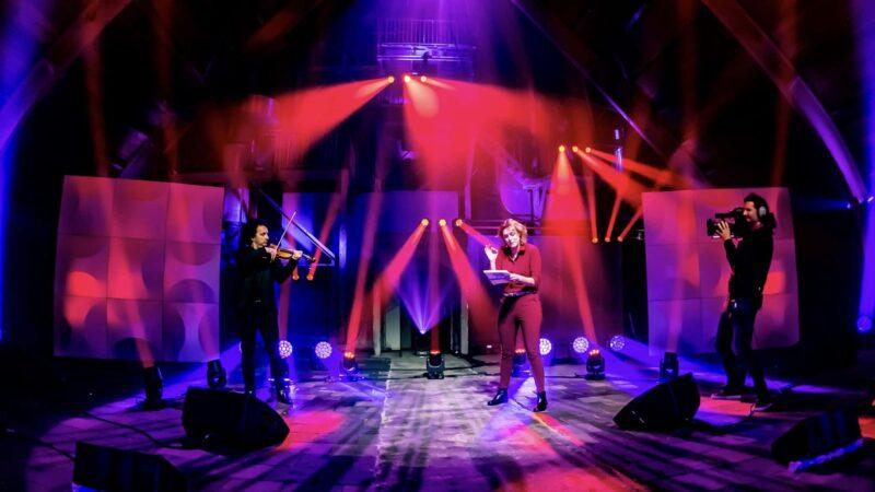 Ruimte om te raken - DeFabrique - concert - iPads - virtual events - online event