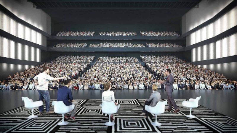 Rotterdam Ahoy - RTM Stage - auditorium - congres - seminar - corona