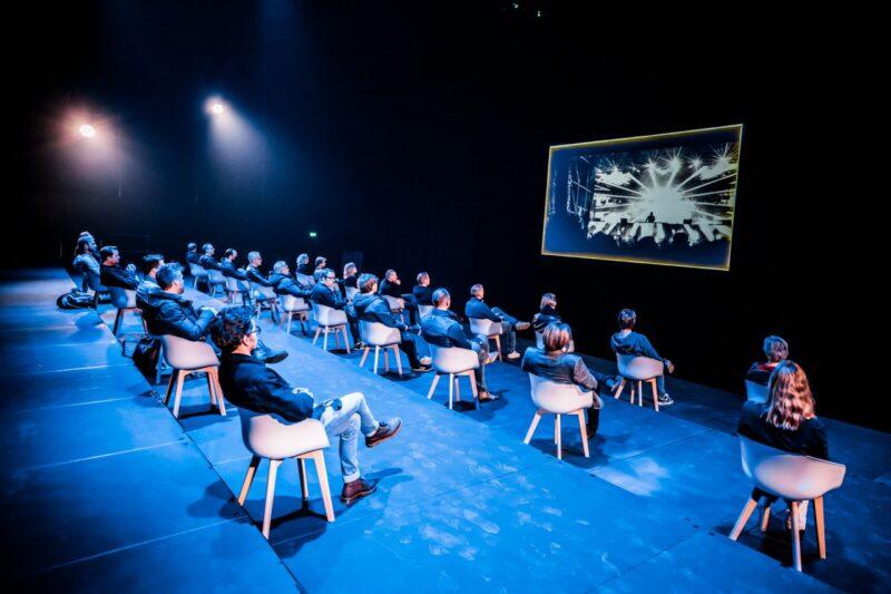 RTM Stage publiek op 1,5 meter