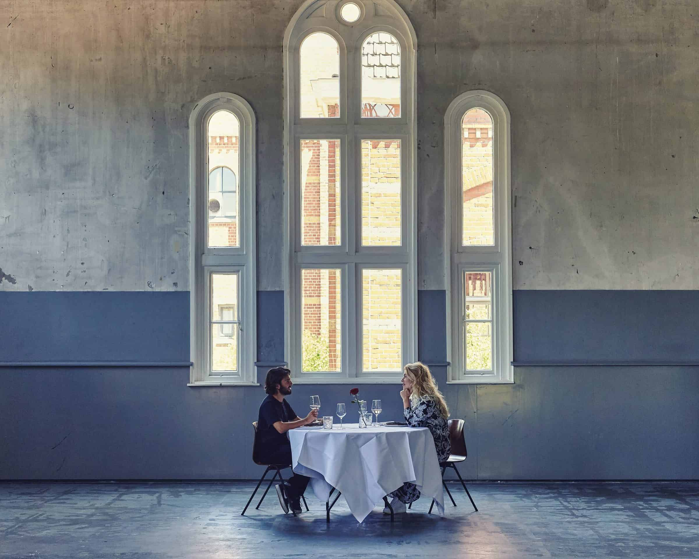 Table for two - the food line up - dineren - coronaproof - locatie - venue - food
