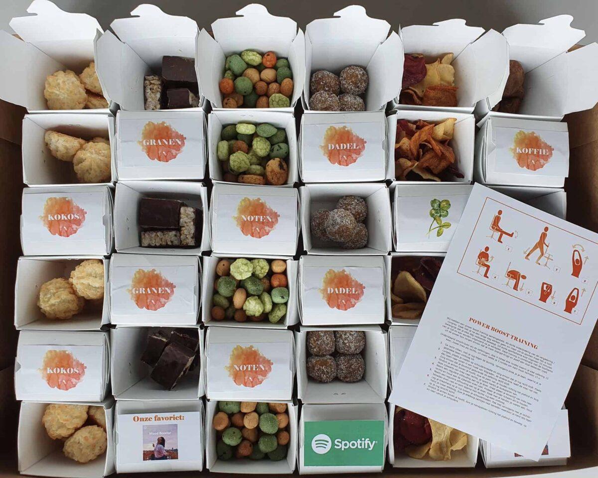 Powerbox - Van der Linde Catering - catering - evenementen - online events - hybride events - boxen - food