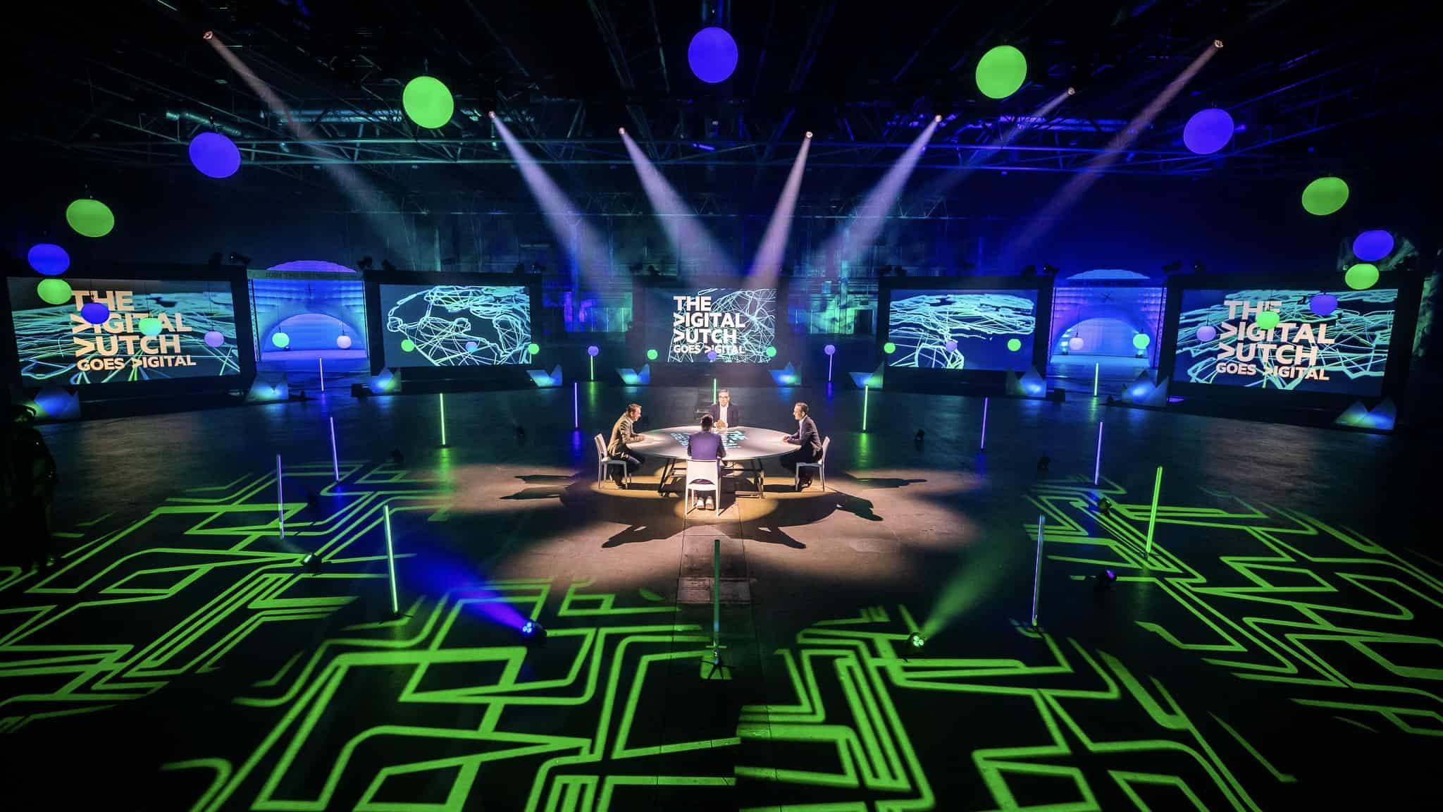 KPN Digital Dutch - online event - virtual event - studio