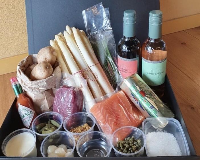 Moederdagbox - Van der Linde Catering - catering - evenementen - online events - hybride events - boxen - food