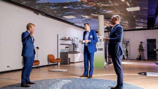 NXTMICE - event - hybride event - online event - MICE - coronaproof - Postillion Hotels - 1,5 meter - netwerken