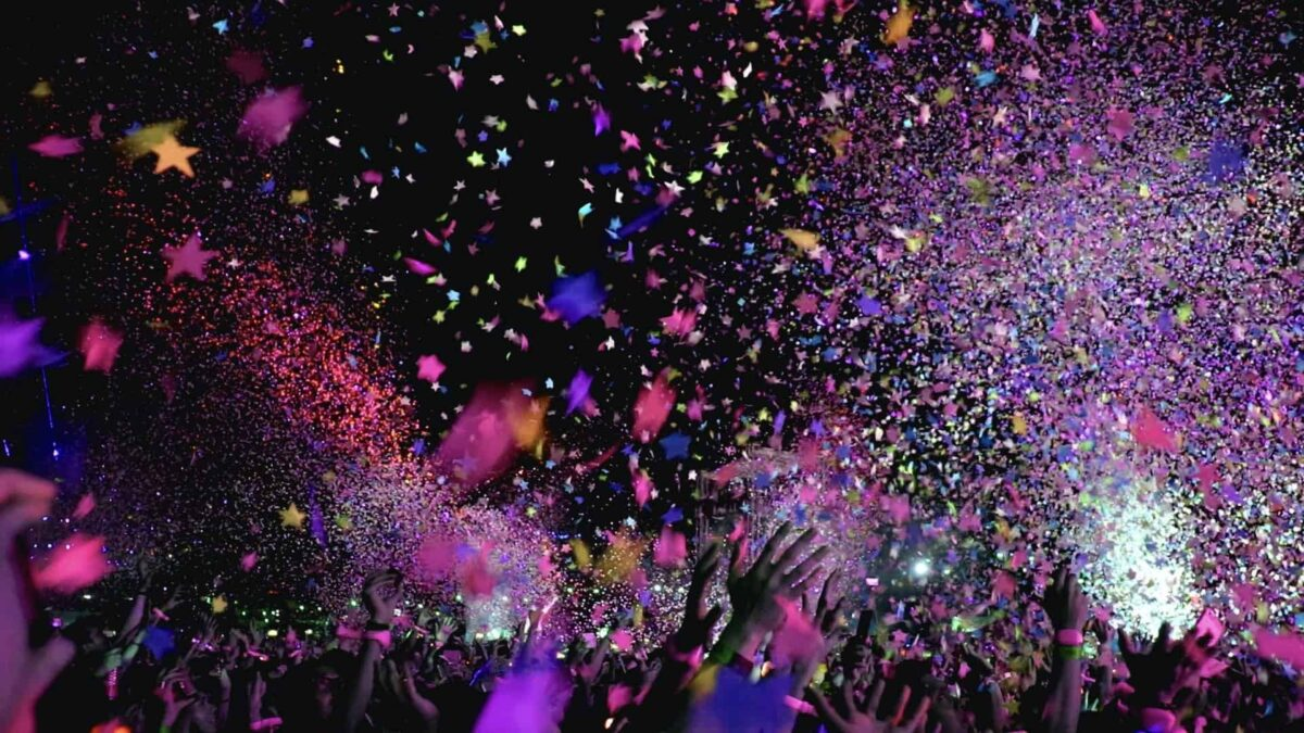 Confetti op een feest - events - live event - Event Inspiration