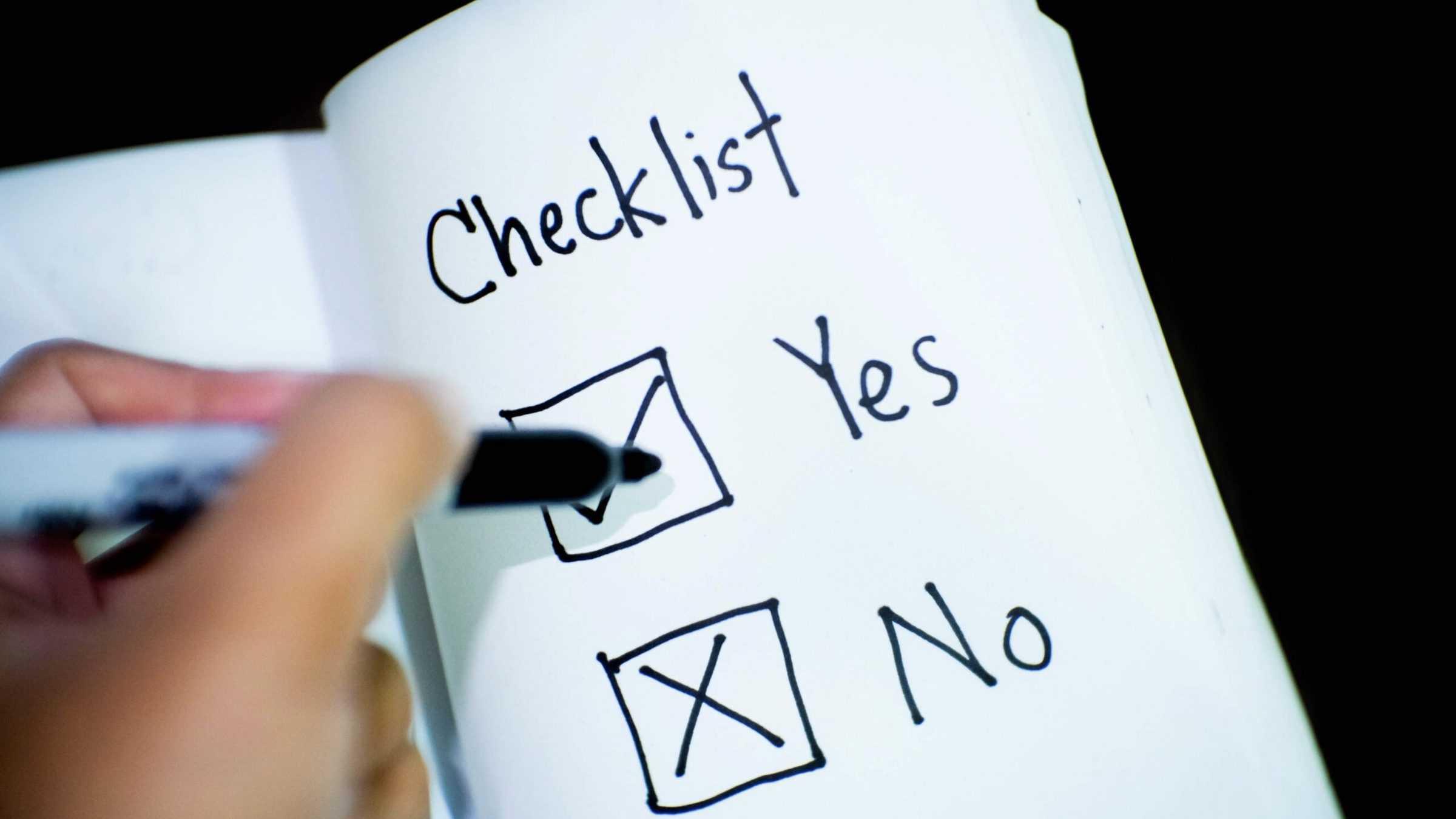 Covid-19 checklist - horeca - vragenlijst - gezondheid - corona
