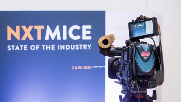 NXTMICE - event - hybride event - online event - MICE - coronaproof - Postillion Hotels - camera