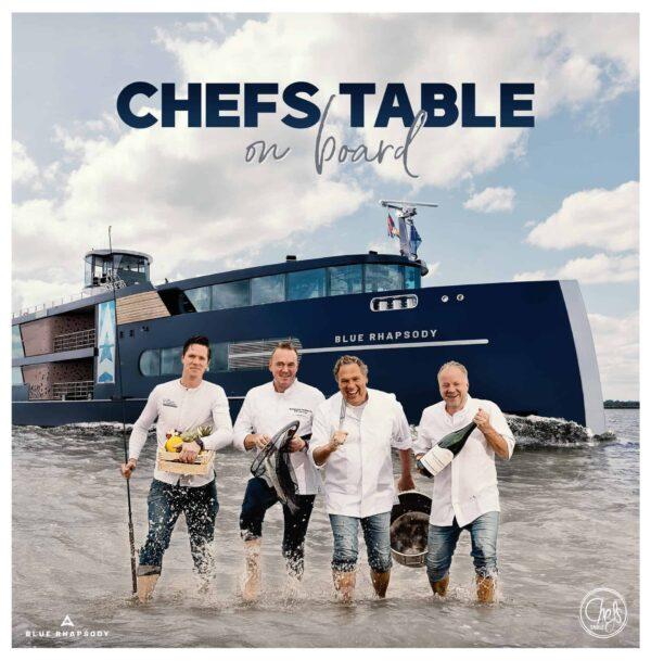 Event Inspiration - Chefs_Table_On Board bij Blue Raphsody - diner op boot met chef kok