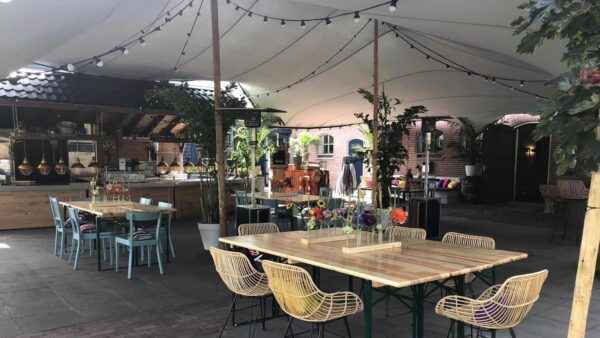 Event Inspiration - Groetjes uit Nijkerk met een overdekt terras met bar