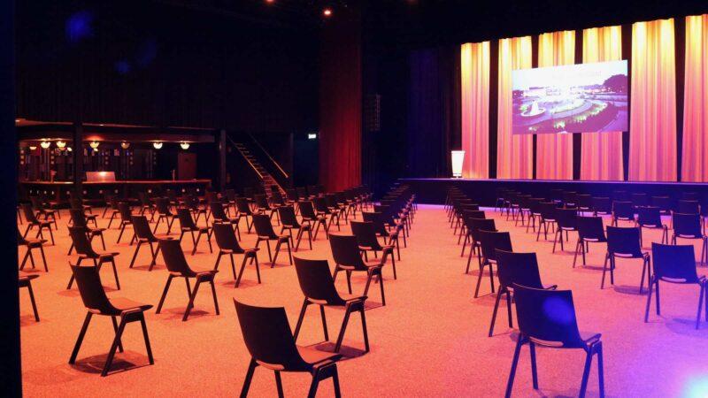 Event Inspiration - Zaal Passe Partout bij Hart van Holland met een coronaproof zaalopstelling