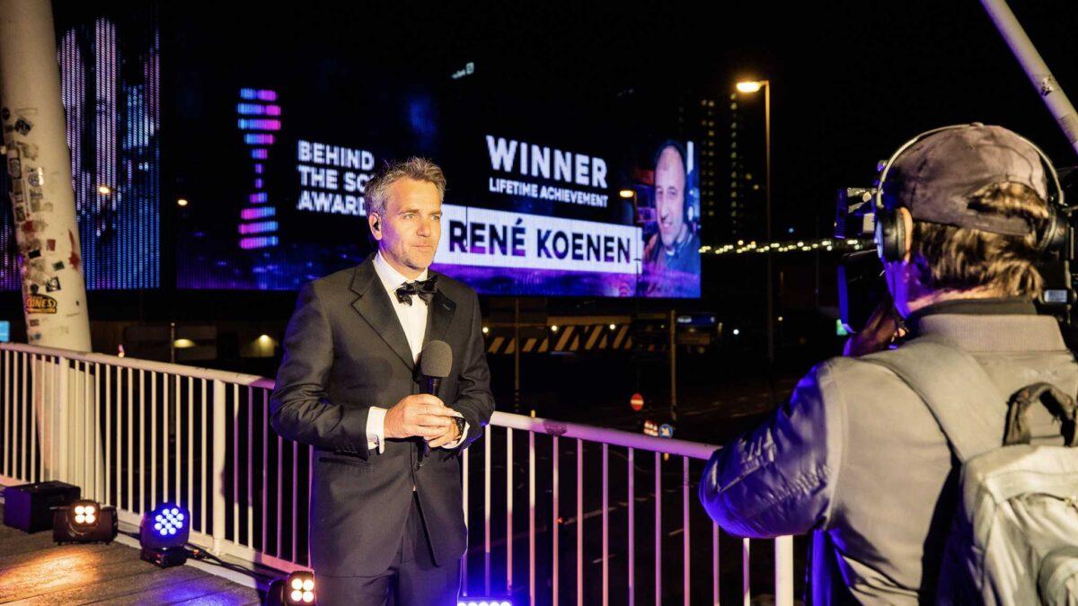 Ziggo Dome - Behind the scenes awards - Floris Heuer - together strong - led wall - winnaar - Rene Koenen