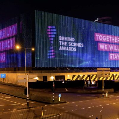 Ziggo Dome - Behind the scenes awards - Floris Heuer - together strong - led wall