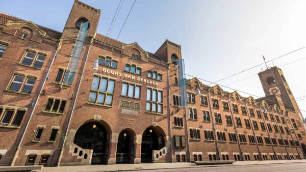 Beurs van Berlage - venue - Amsterdam - entree - gevel - events - evenementenlocatie