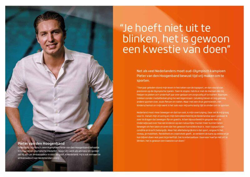 Tycho's Eye Photography - communication - fotograaf - events - productfotografie - event fotografie - zakelijke fotografie - media - Nederlandse loterij jaarverslag - Pieter van den Hoogenband
