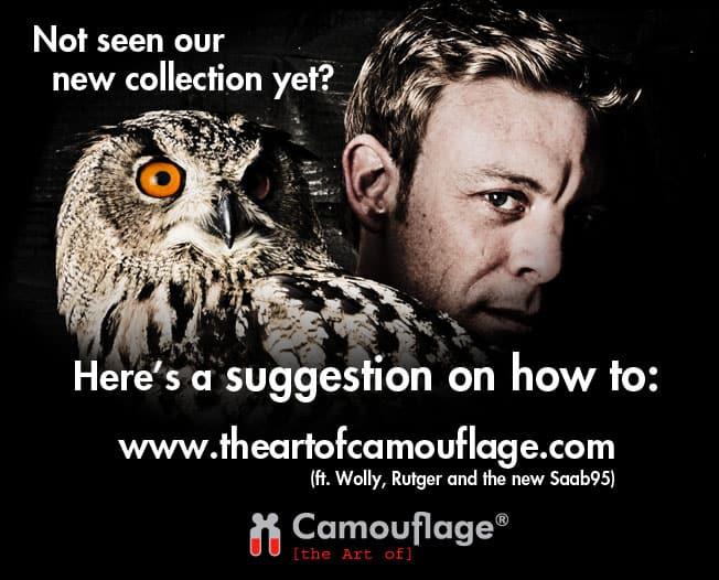 Tycho's Eye Photography - communication - fotograaf - events - productfotografie - event fotografie - zakelijke fotografie - media - the artof camouflage wear - uil