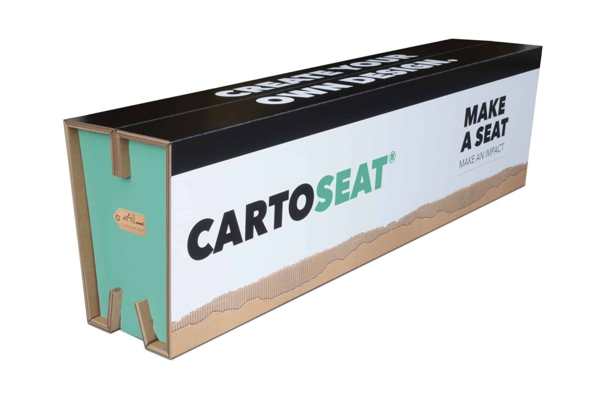 Cartoseat bank van karton