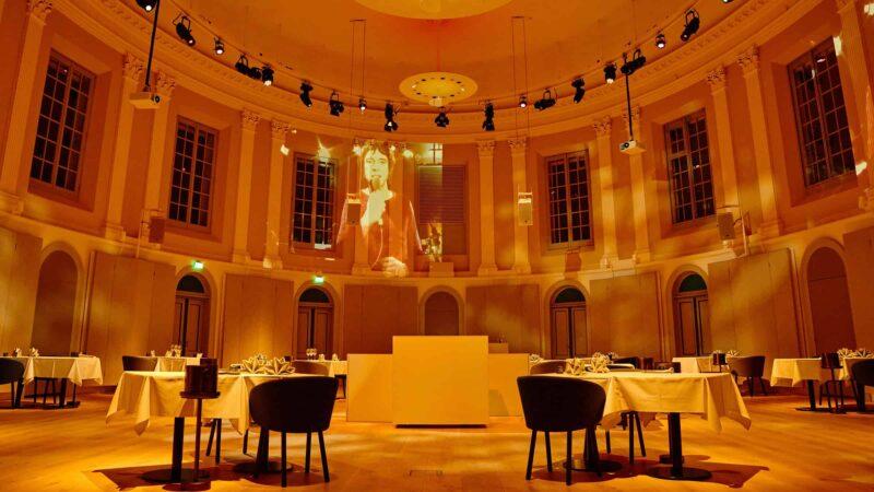 Event Inspiration - Concertzaal bij Felix Meritis tijdens een diner van Restaurant Felix