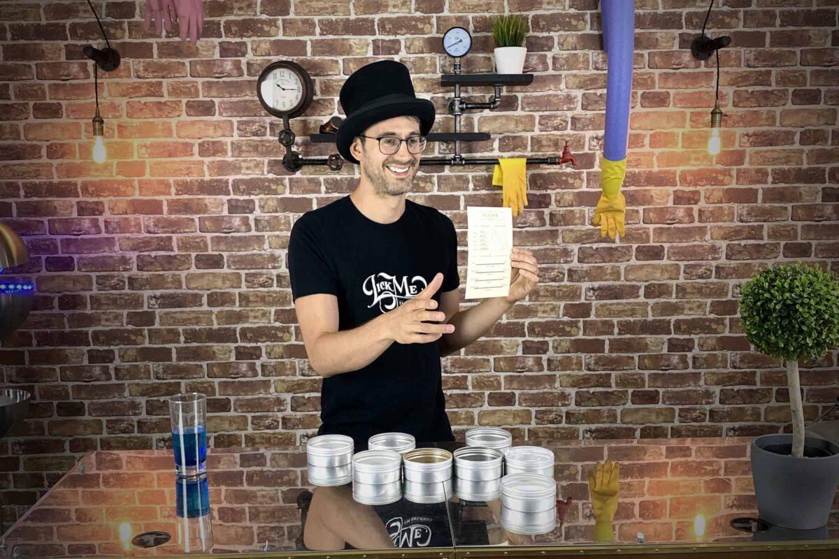 Flavour Explorer - host van smaakexperiment