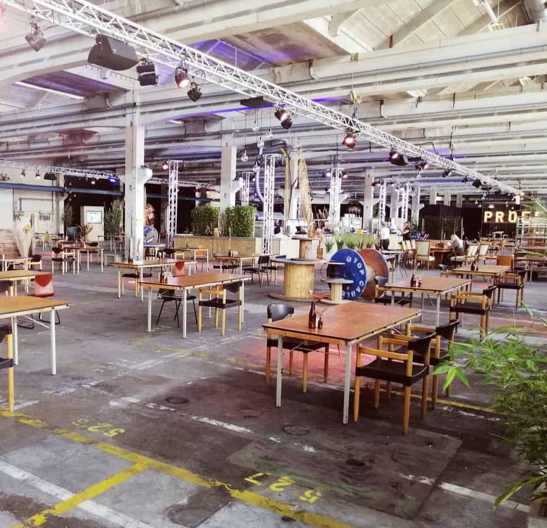 Restaurant Proefdruk bij Papierfabriek Nijmegen