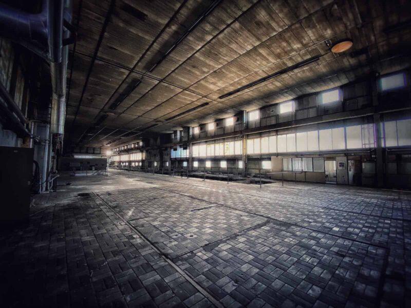 Verlaten Papierfabriek Nijmegen