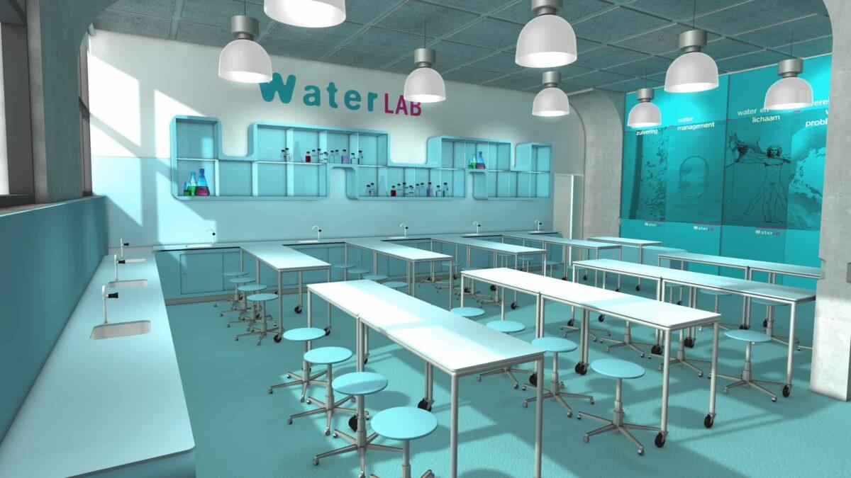 Waterlab vergaderzaal bij Museon