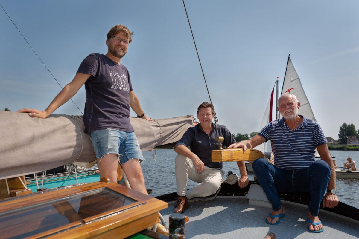 Annage - 3 mannen op een schip - Marieke Balk Fotografie