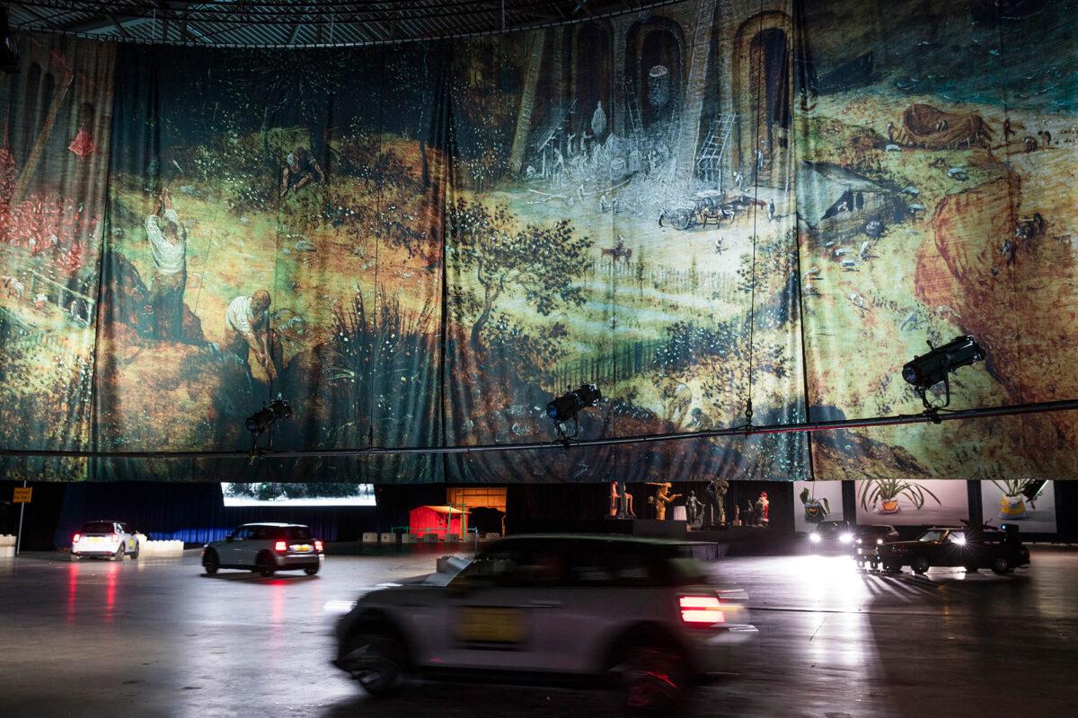 Boijmans Ahoy drive-thru museum is per auto te bezichtigen! 1