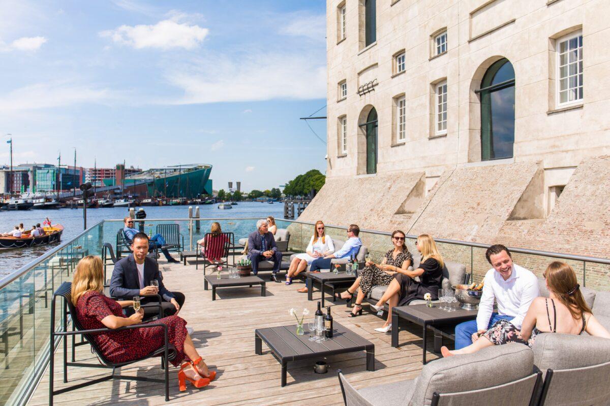 Het Dek - scheepvaartmuseum eventlocatie aan het water