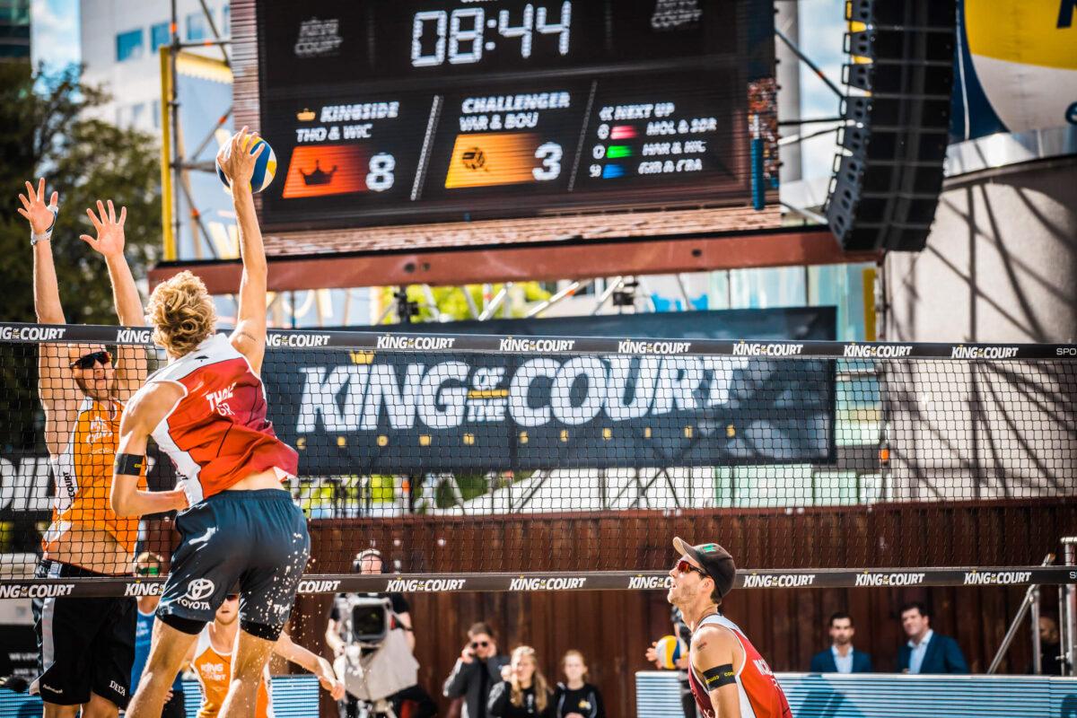 Nu King of the Court organiseren is ballen tonen voor de hele branche! 1