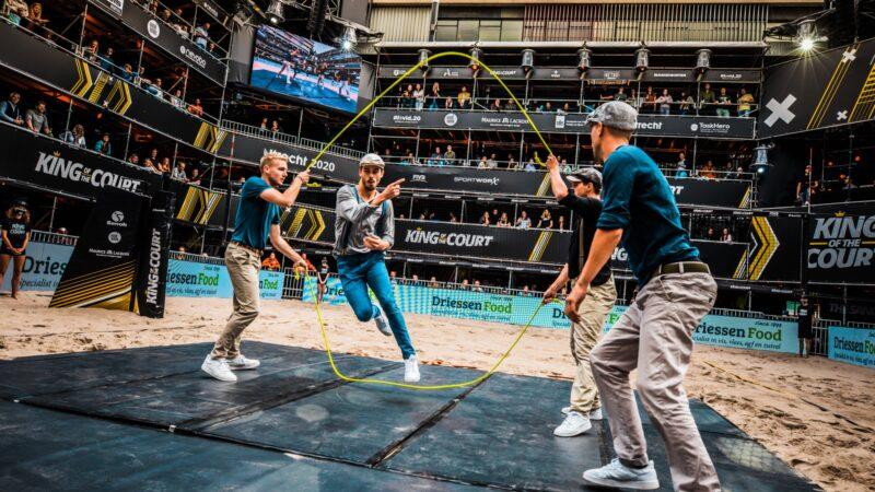 Act met touwtje springen tijdens King of the Court (foto-SetVexy)