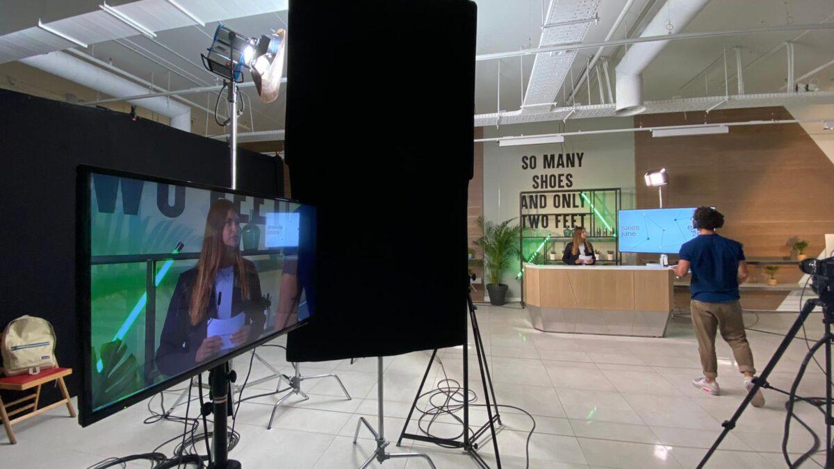 Adyen online event We Are Live in studio