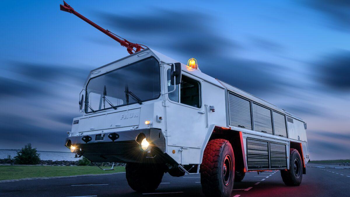 BrandMeester brandweerwagen