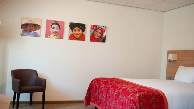 Hotelkamer bij Kontakt der Kontinenten