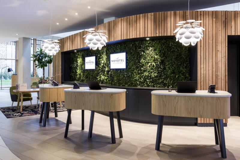 Novotel Amsterdam Schiphol Airport incheckbalie