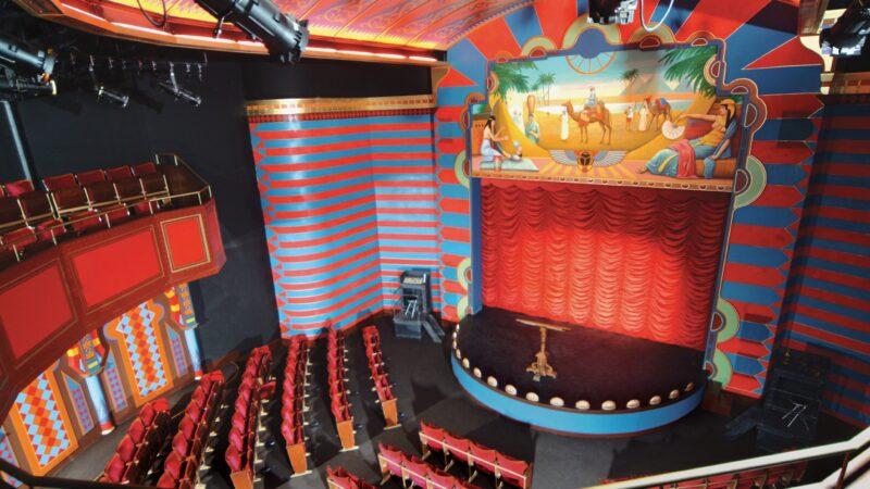 Theaterzaal - balkon Spoorwegmuseum