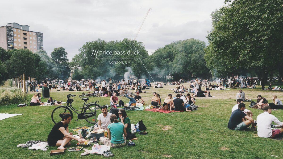 navigatie app what3words_UK_Press Kit_Picnic_London