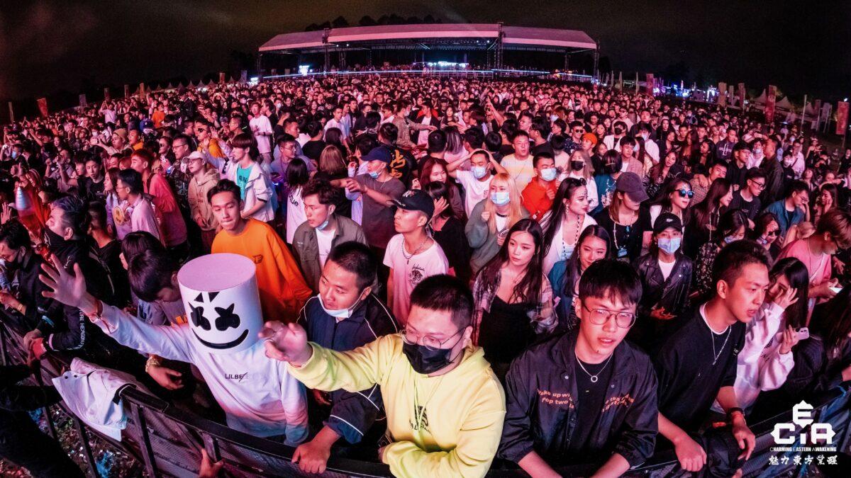 CEA dancefestival China - dansend publiek