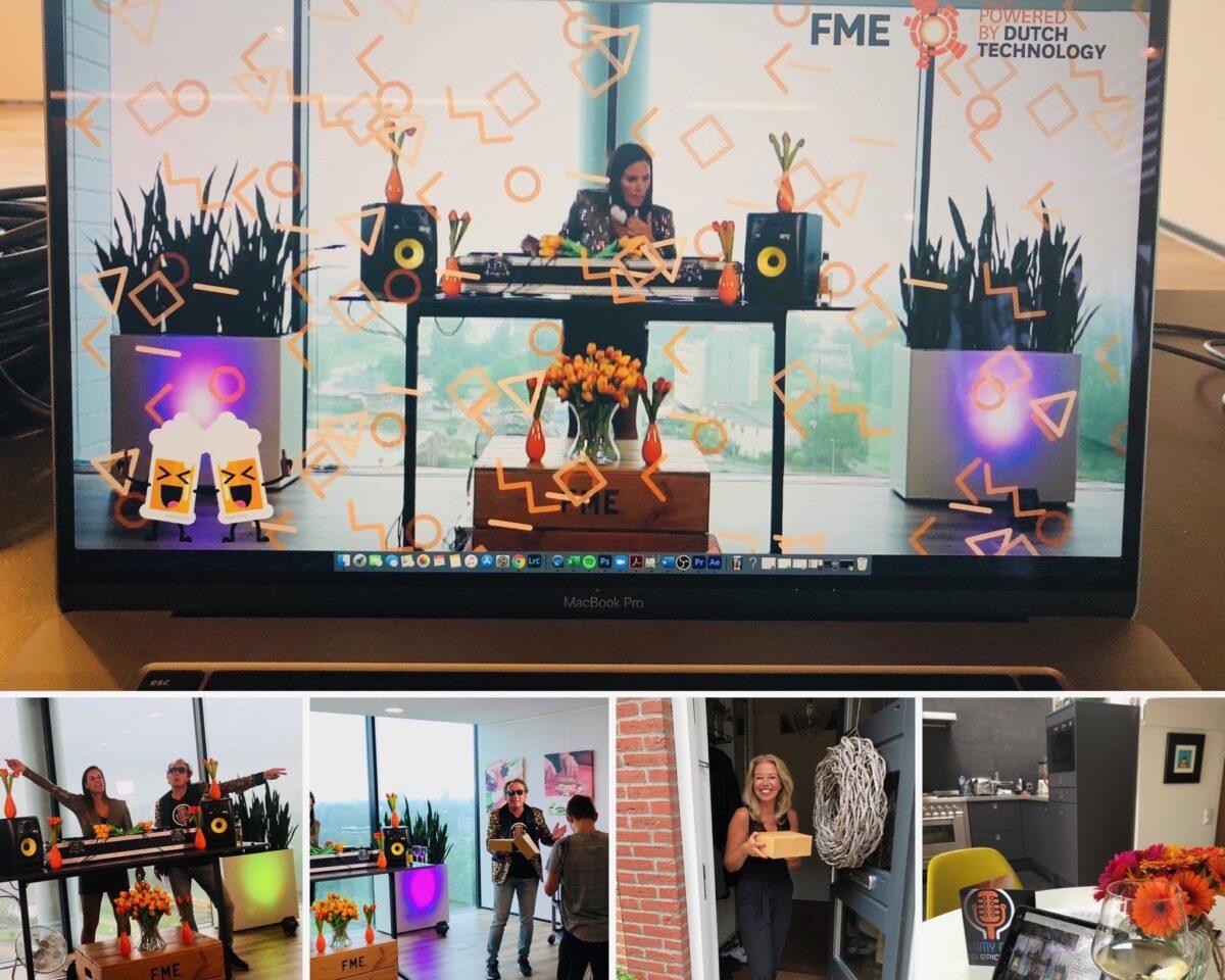 DJ Dina van Diest online dj set