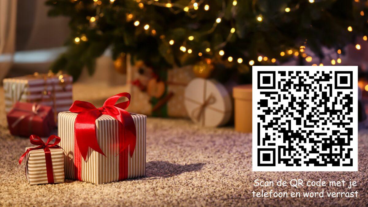 Eventz kerstcarrousel QR code