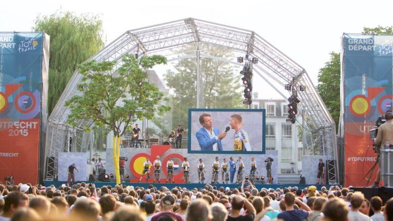 Ploegenpresentatie Tour de France Utrecht - JuDid