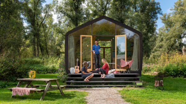 Stayokay Dordrecht klein huisje