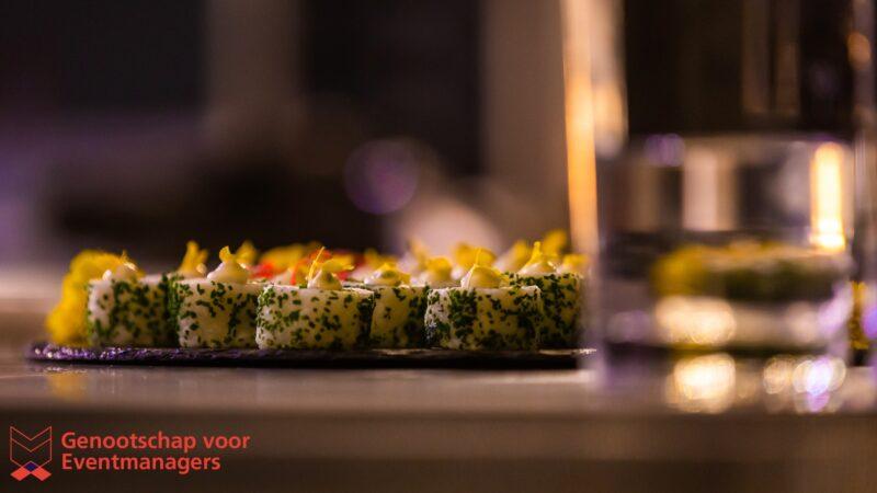 Sushi bij bijeenkomst Genootschap-voor-Eventmanagers