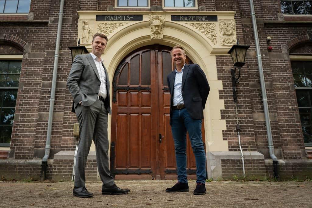 Timo-Kruft (TEKA groep) en Dirk-Lubbers (stichting WFC)