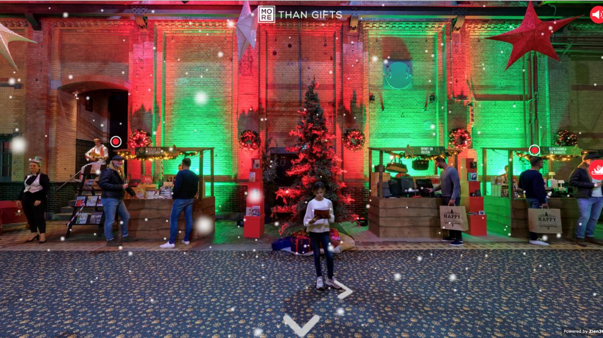 Virtuele kerstmarkt impressie More Than Gifts