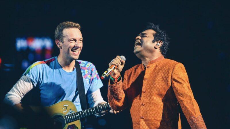 Sabbas arrahman - Foto van Cris Martin samen met een indiase zanger