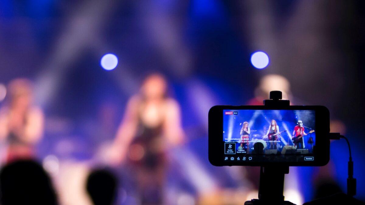 Event filmen tijdens event met telefoon - Nicolas LB