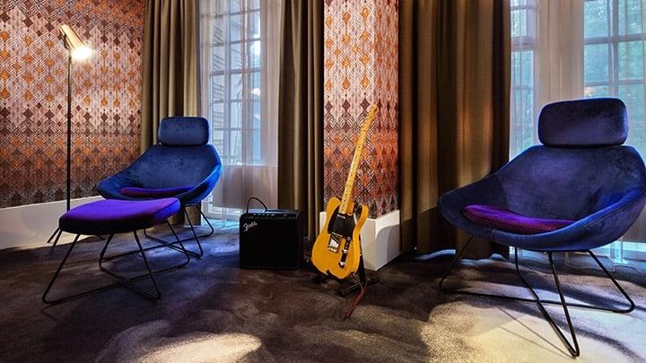 HARD ROCK HOTEL AMSTERDAM_DETAIL_GUITAR