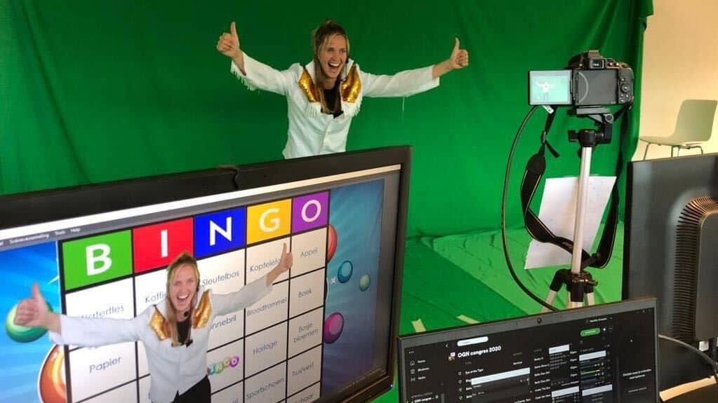 Online bingo voor greenscreen - Energy Up